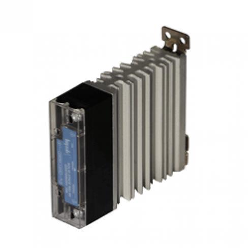Твердотельное реле GDS1048ZA2 (10A, 480V AC, 80...280V AC) на DIN-рейку + радиатор