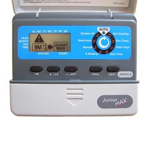 Контроллер Irritrol JUNIOR Max, 6 станций, 3 программы, ЖК дисплей, внутренний, JRMAX-6-220