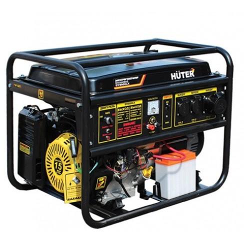 Электрогенератор бензиновый Huter DY8000L