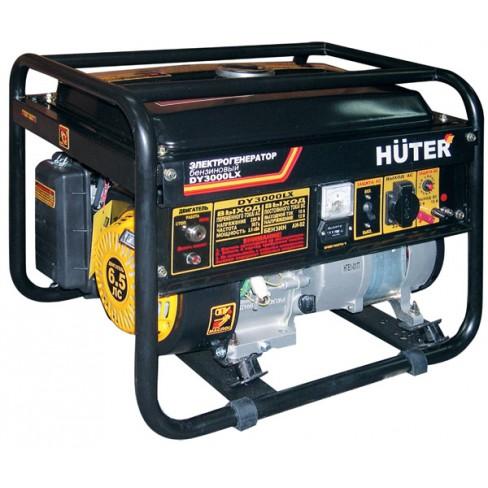 Электрогенератор бензиновый Huter DY3000LХ электростартер
