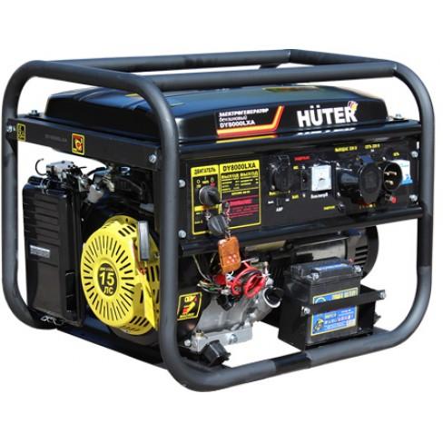 Электрогенератор бензиновый Huter DY8000LХA