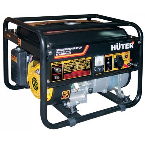 Электрогенератор бензиновый Huter DY4000LХ электростартер