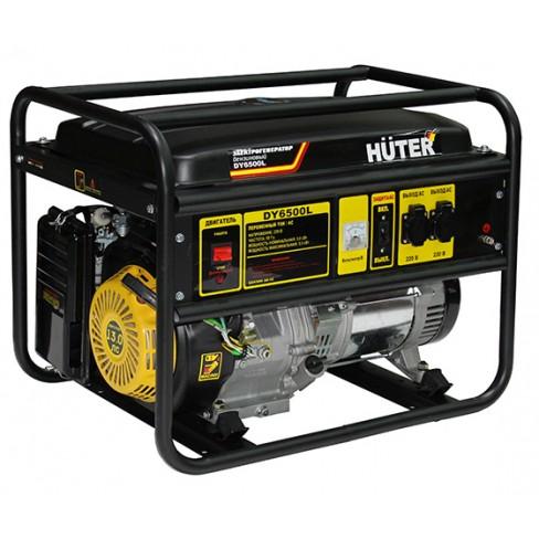 Электрогенератор бензиновый Huter DY6500LХ электростартер