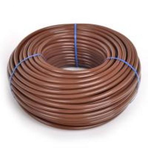 Капельная линия minidrip 4x6mm, коричневая, 2л/ч, 30см. Бухта 30м.