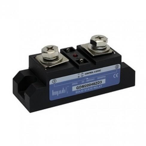 Твердотельные реле GDM20048ZD3 (200A, 480V AC, 3...32V DC)