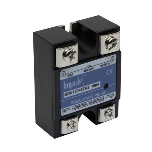 Твердотельные реле GDH10048ZA2 (100A, 480V AC, 80...280V AC)