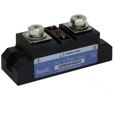 Твердотельные реле GDM25048ZA2 (250A, 480V AC, 80...280V AC)