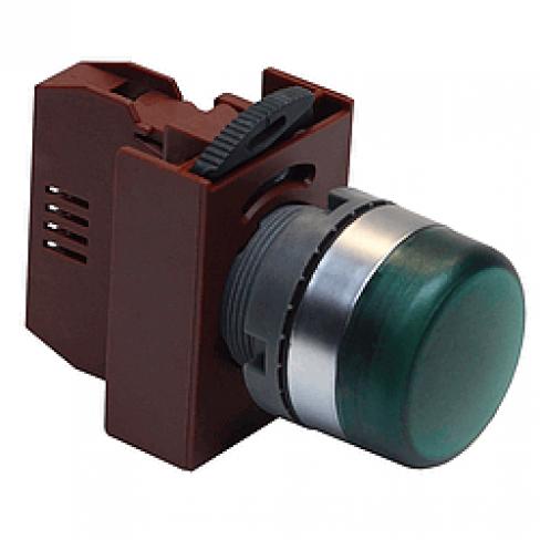 Индикаторная лампа зеленая C2LIF G 220V