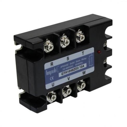 Твердотельные реле GTH1048ZD3 (10A, 480V AC, 3...32V DC)