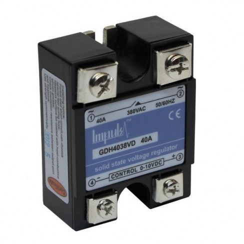 Твердотельные реле GDH4038VD (40A, 380V AC, 0-10V DC)