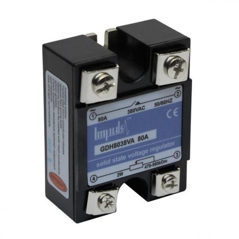 Твердотельные реле GDH8038VA (80A, 380V AC, 0-560kOhm)