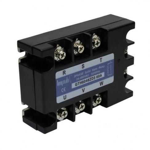 Твердотельные реле GTH6048ZD3 (60A, 480V AC, 3...32V DC)