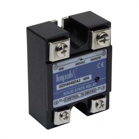 Твердотельные реле GDH4048ZA2 (40A, 480V AC, 80...280V AC)