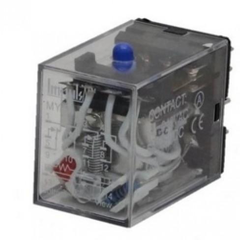 Реле катушка MY4-NS 24VDC 4 переключающих контакта