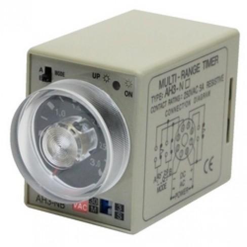 Реле времени AH3-NB-220V AC 3с-30м