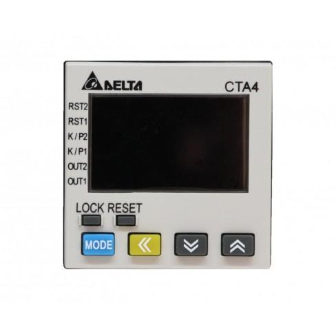 Комбинированный цифровой прибор CTA4100A 100-240V AC, 1-й вых реле, 2-й вых NPN