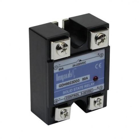 Твердотельные реле GDH8023DD3 (80A, 220V DC, 3...32V DC)
