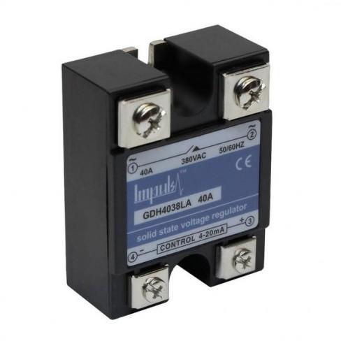 Твердотельные реле GDH4038LA (40A, 380V AC, 4-20мА DC)