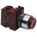 Кнопка выступающая красная с подсветкой C2PIH R 1B 220V без фиксации, 1 Н.З.