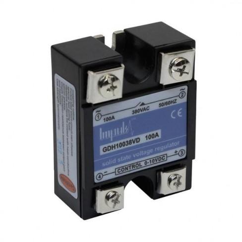 Твердотельные реле GDH10038VD (100A, 380V AC, 0-10V DC)
