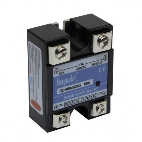 Твердотельные реле GDH6048ZA2 (60A, 480V AC, 80...280V AC)