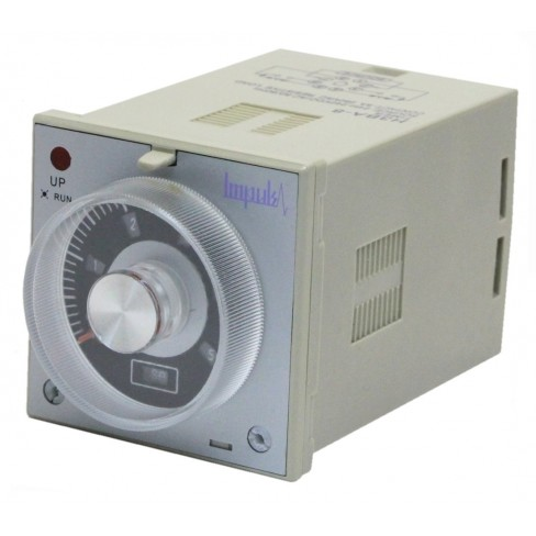Реле времени H3BA-8H 24-220V AC/DC 0.05с-100ч
