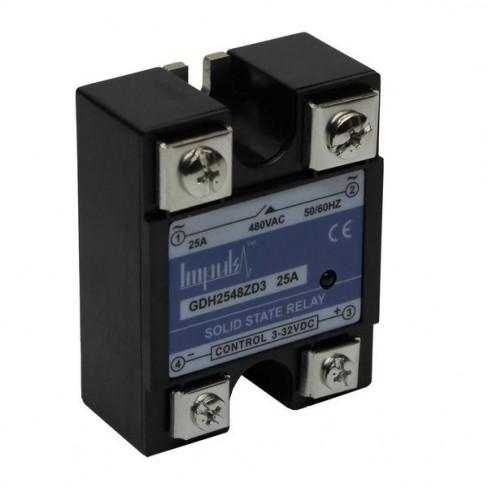 Твердотельные реле GDH2548ZD3 (25A, 480V AC, 3...32V DC)