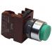 Кнопка выступающая зеленая без фиксации C2PNH G 1A, 1 Н.О.