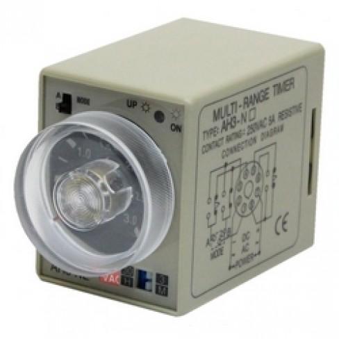 Реле времени AH3-NE-220V AC 3м-30ч