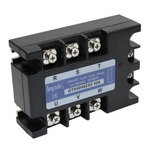 Твердотельные реле GTH4048ZA2 (40A, 480V AC, 80...280V AC)