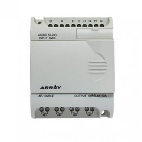 AF-10MR-D 12...24V DC, 6 входов DC (дискретные/аналоговые), 4 реле