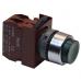 Кнопка выступающая зеленая без фиксации C2PIH G 1A 220V, 1 Н.О.