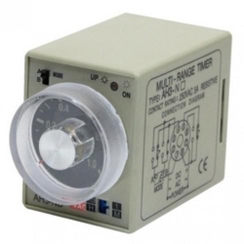Реле времени AH3-ND-220V AC  1м-10ч