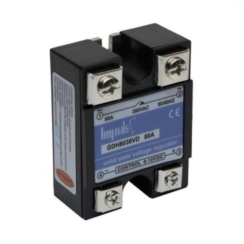 Твердотельные реле GDH8038VD (80A, 380V AC, 0-10V DC)