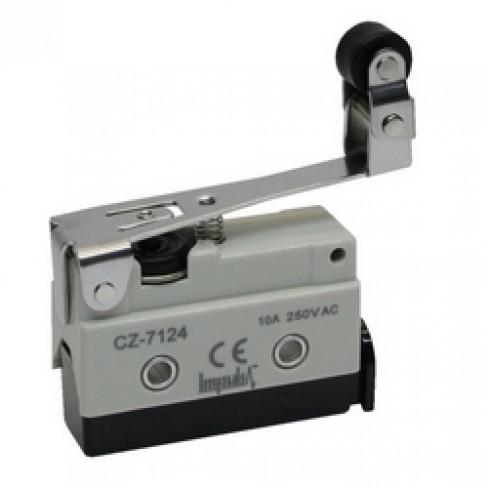 Концевой выключатель CZ-7124 (рычаг с поворотным роликом нажимной)