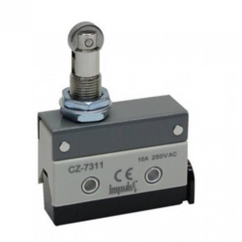 Концевой выключатель CZ-7311 (шток с продольным роликом нажимной)