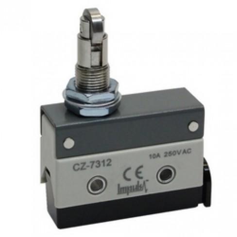 Концевой выключатель CZ-7312 (шток с поперечным роликом нажимной)