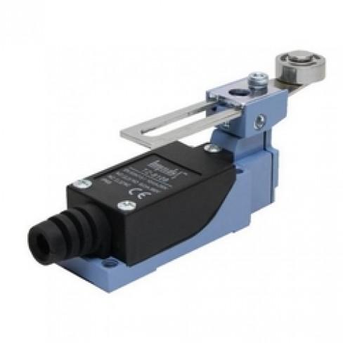 Концевой выключатель TZ-8108 (регулируемый рычаг с роликом поворотный