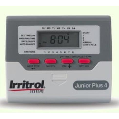 Контроллер Irritrol JUNIOR Plus, 4 станции, 3 программы, ЖК дисплей
