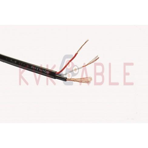 КВК 2П 2х0,5 внешний с тросом кабель SyncWire