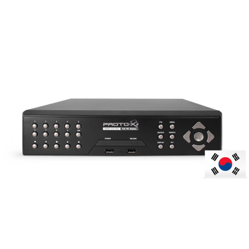 DVR видеорегистратор PTX-UDR1616 (Юж.Корея)