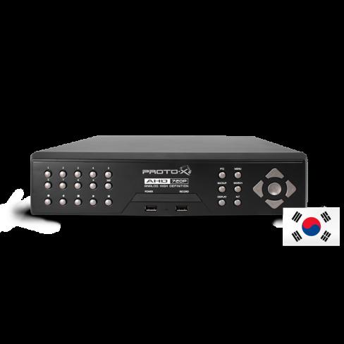 AHD Видеорегистратор PTX-UDR404HD (Юж.Корея)