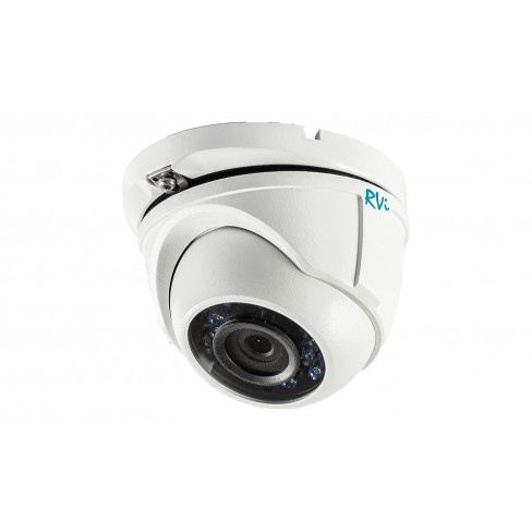 Антивандальная TVI камера видеонаблюдения TVI RVi-HDC321VB-T (2.8 мм)