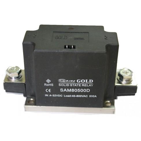 Твердотельное реле SAM-80500D (500A, 800V AC, 3...32V DC)