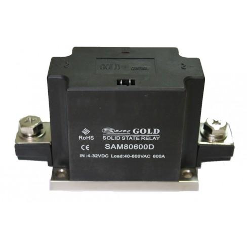 Твердотельное реле SAM-80600D (600A, 800V AC, 3...32V DC)