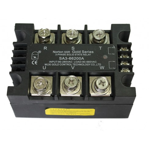 Твердотельное реле SA3-66200A (200A, 660V AC, 80...280V AC)