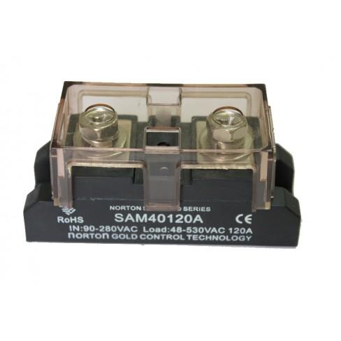Твердотельное реле SAM-40120A (120A, 530V AC, 80...280V AC)