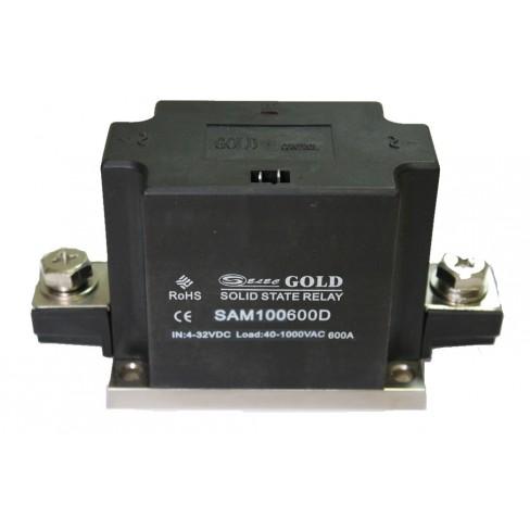 Твердотельное реле SAM-100600D (500A, 1000V AC, 3...32V DC)