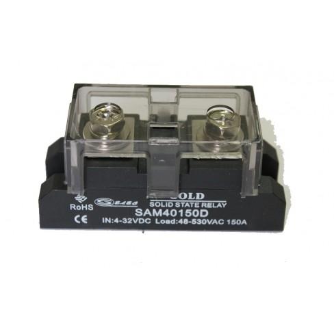 Твердотельное реле SAM-40150D (150A, 530V AC, 3...32V DC)