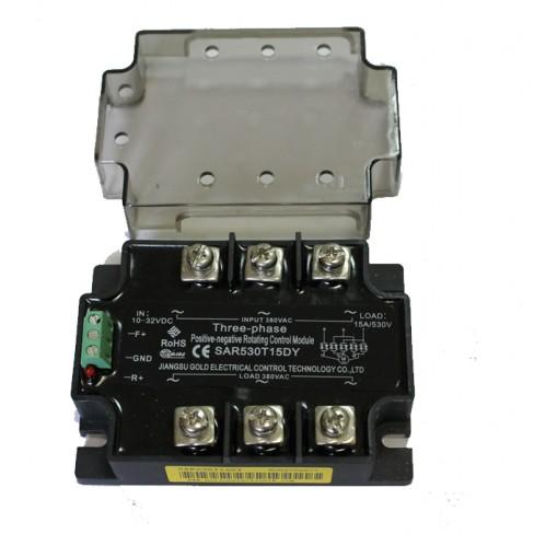 Твердотельное реле SAR530T15DY (15A, 530V AC, 10...32V DC)